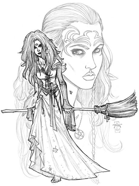 Cyrwynne Tolani Witch of the Three