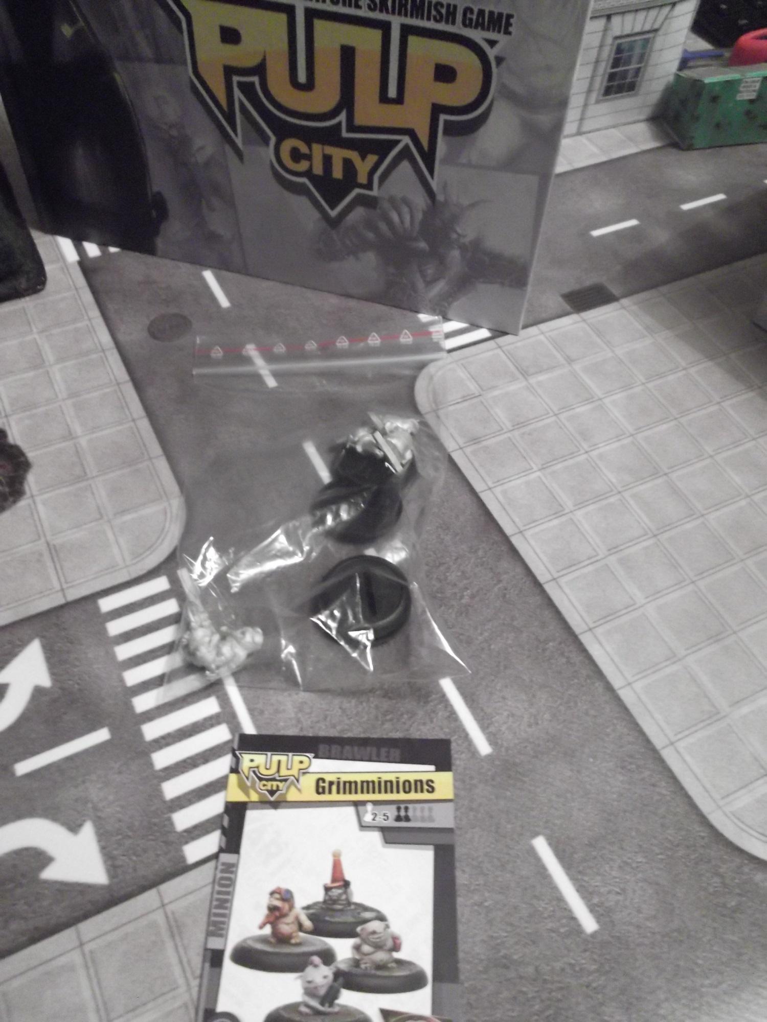 Pulp City - Minions du Grimm