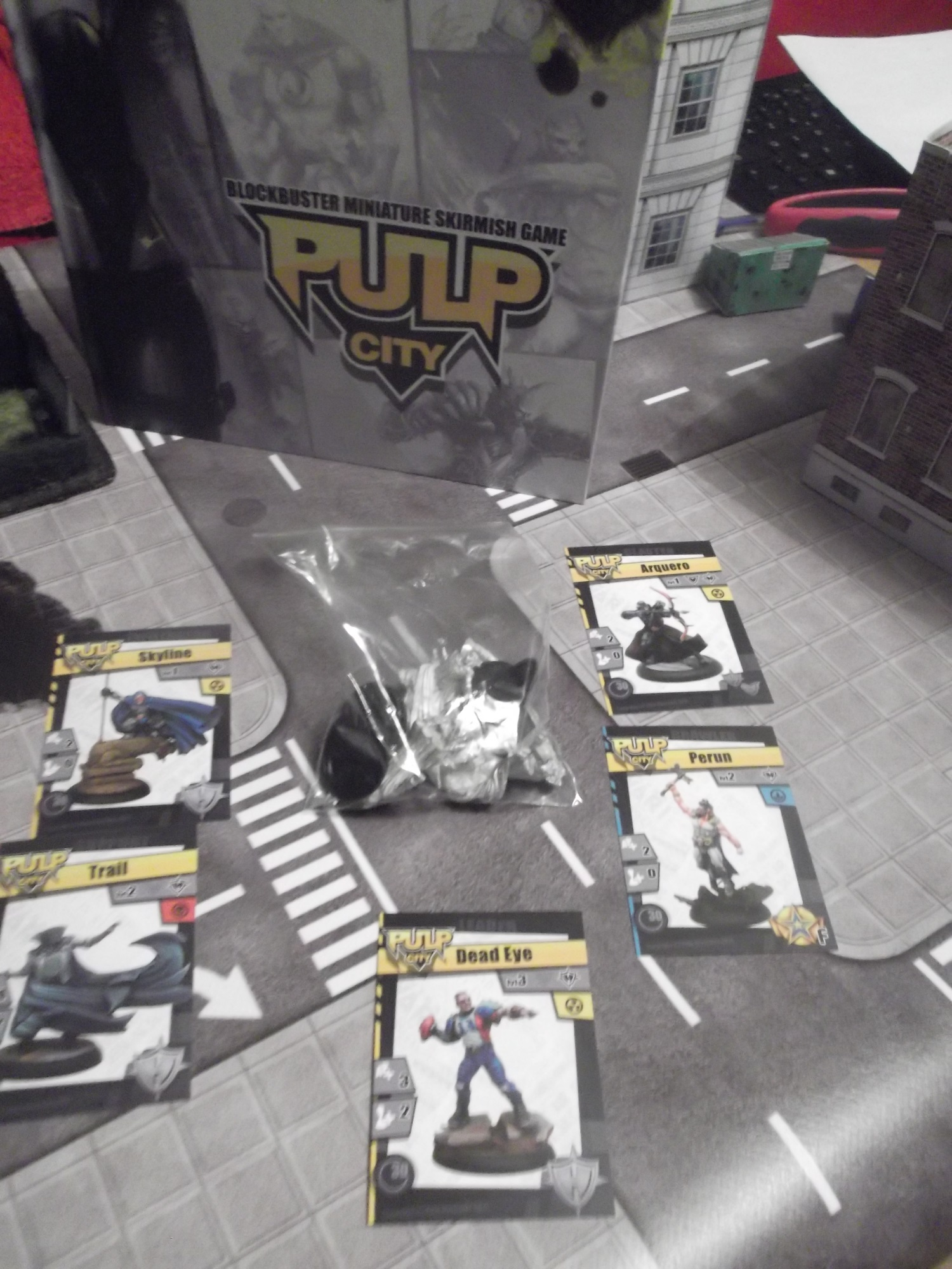 Pulp City - Indy Heroes