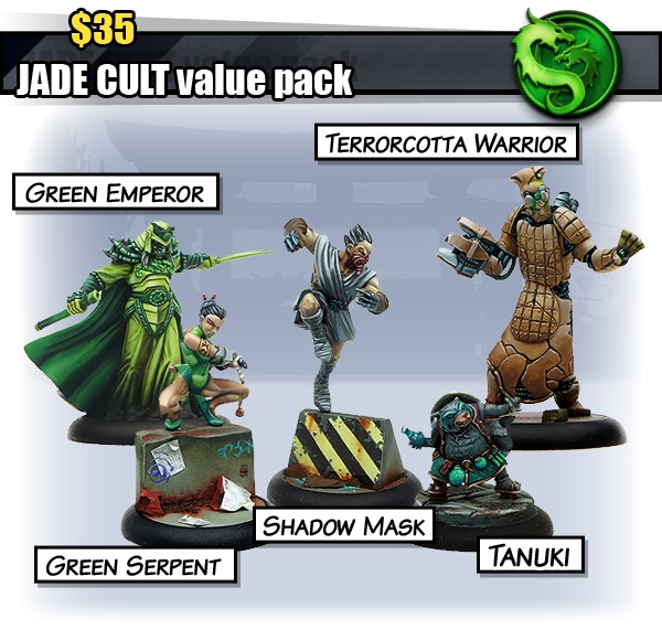 Value Pack du Jade Cult