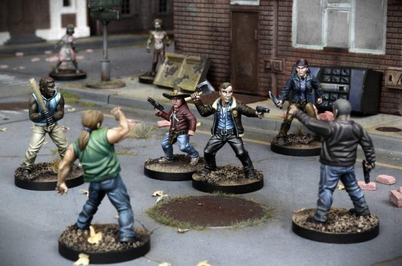 Rick et Carl face à d'autres survivants