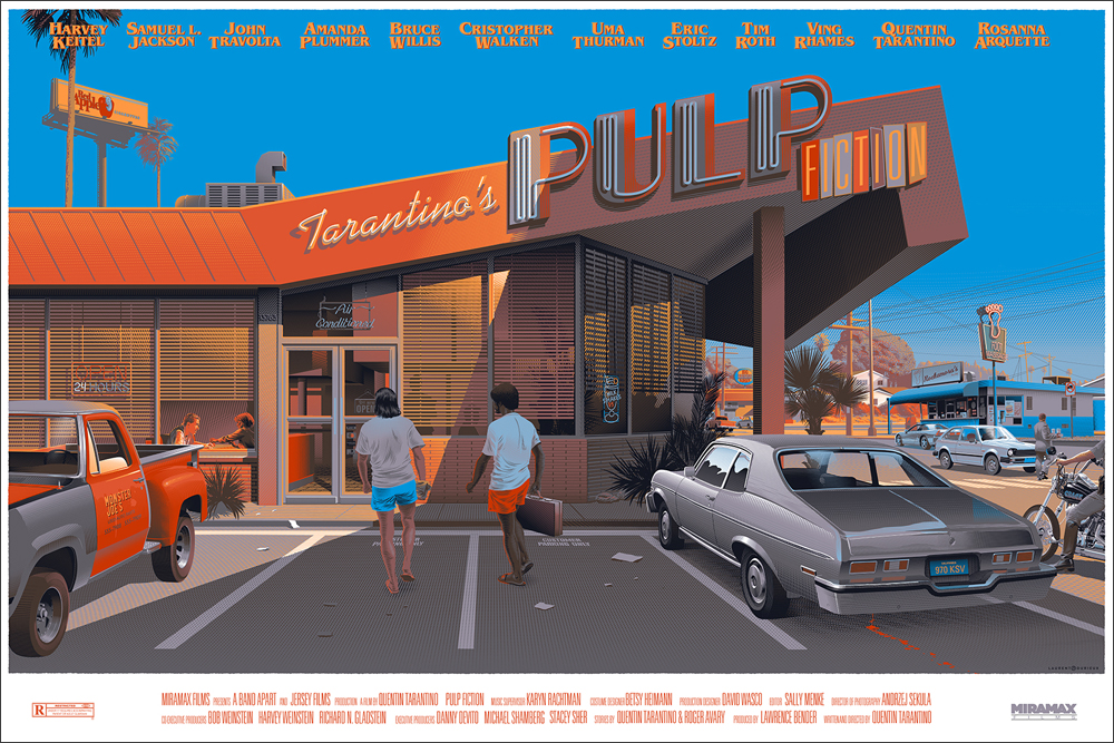 Pulp Fiction, par Laurent Durieux
