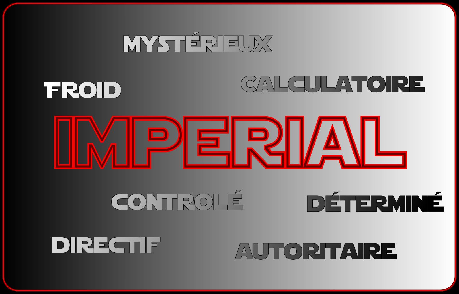 Carte de Ton Impérial