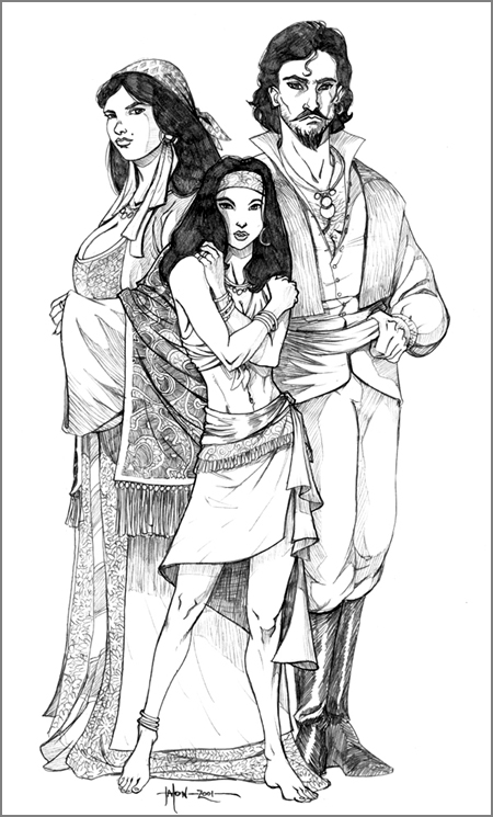 Famille Vistanie, Ravenloft