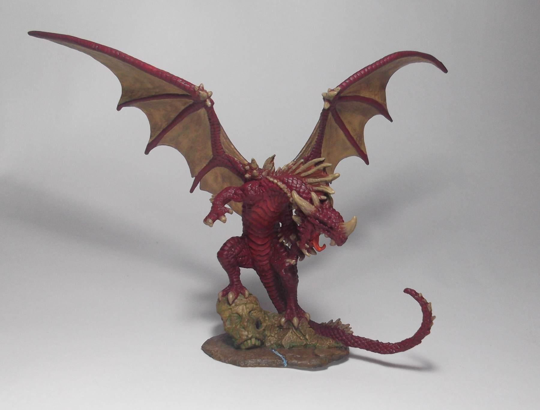 Pathfinder Red Dragon de Reaper Bones