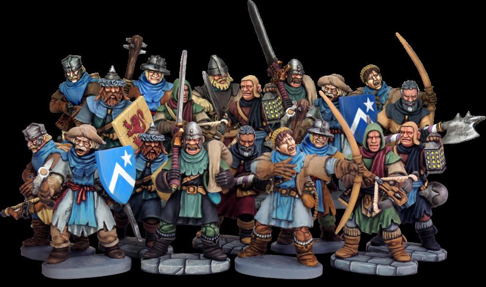 Soldats de Frostgrave