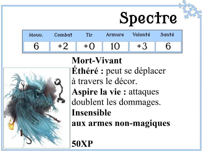 Spectre pour Frostgrave