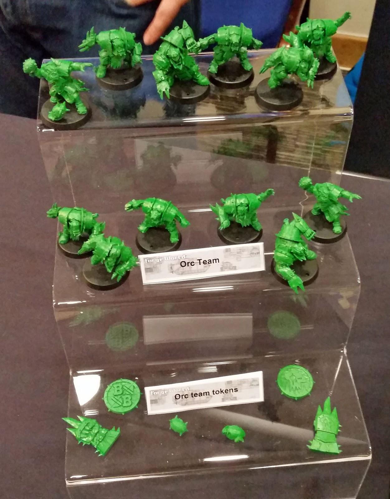 L'équipe Orque (en vert, normal)