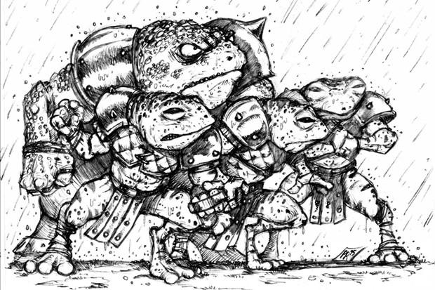 Les Frogmen de J-Bone
