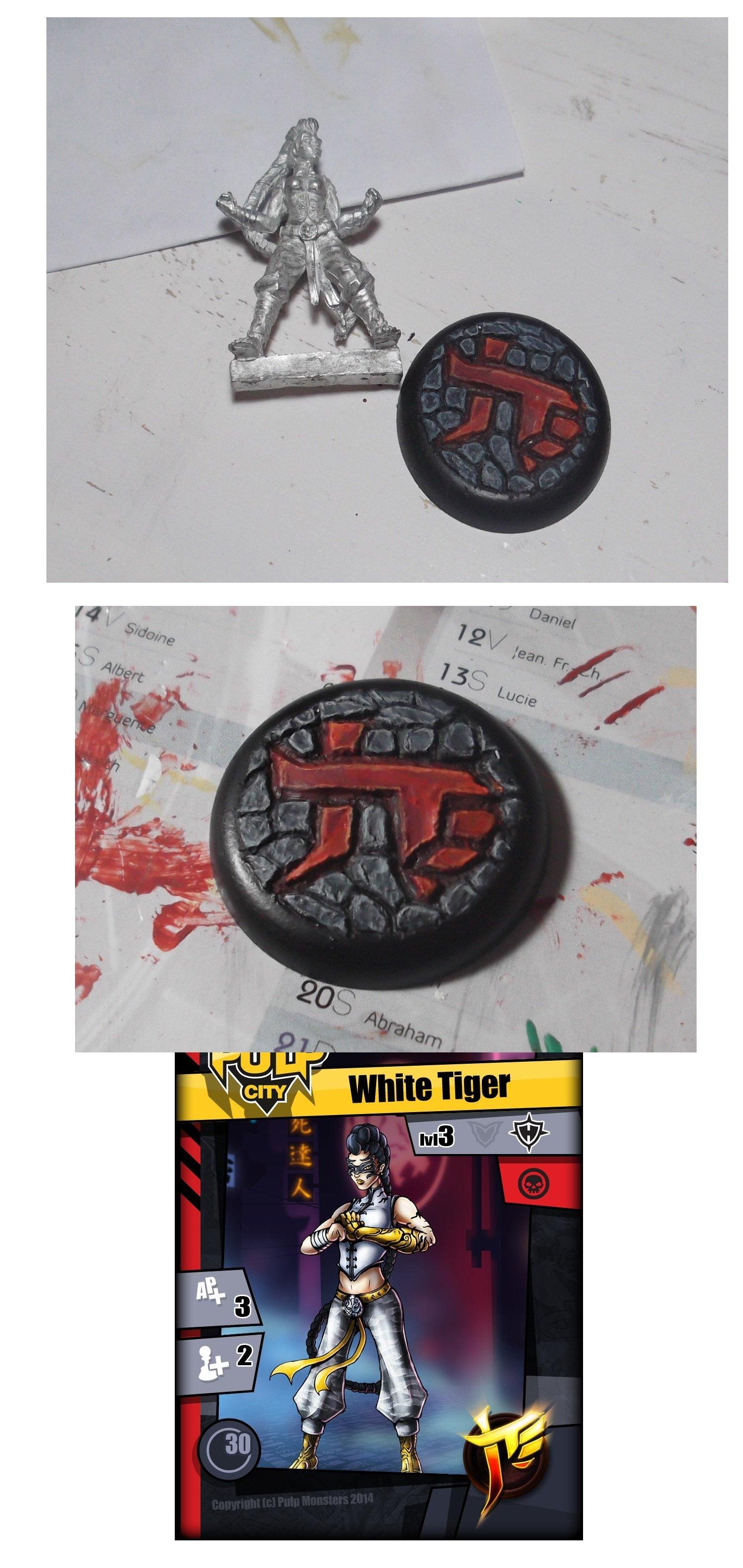 Socle pour White Tiger