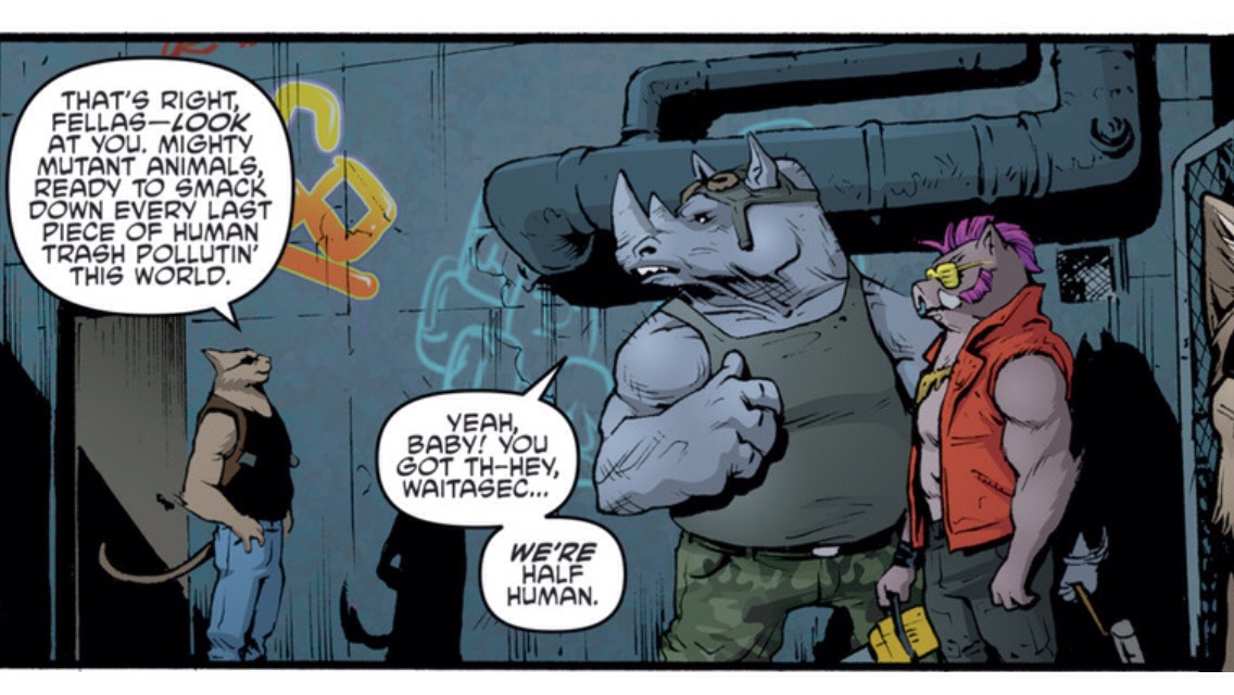 Hobb, Bebop & Rocksteady